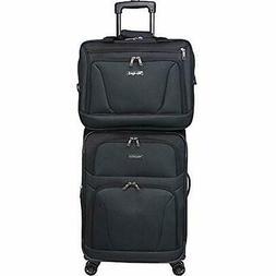 World Luggage Sets Traveler Embarque Lightweight 2-Piece Car