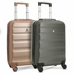 x2 Set Aerolite 22x14x9 Luggage Away Travel Carry On Suitcas
