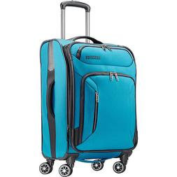 """American Tourister Zoom 21"""" Expandable Carry-On Spinner Lugg"""